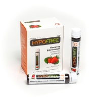 Напиток фруктовый Hypofree со вкусом клубники (1 флакон)